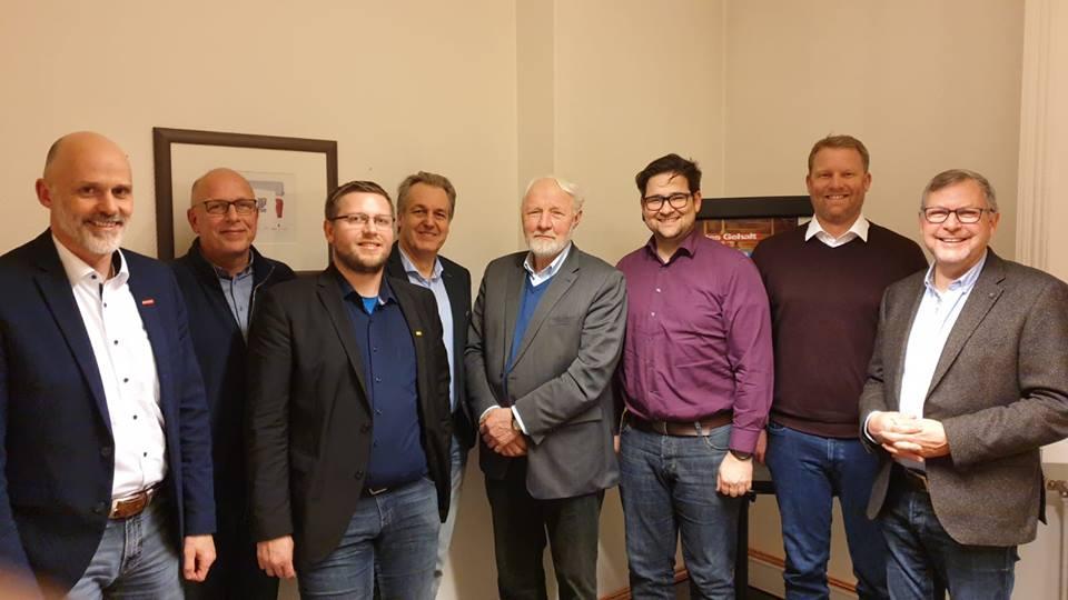 Thorsten Tooren, Wilhelm Eden, Jens Völker, Heiner Heijen, Arnold Venema, Tim Freudenthal, Wilko Düselder, Carl Friedrich Brüggemann